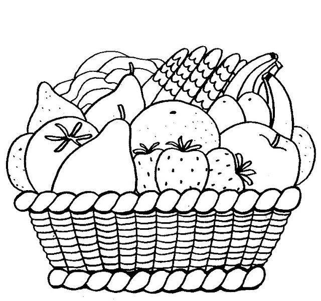 رسومات للتلوين فواكه إقرأ 11
