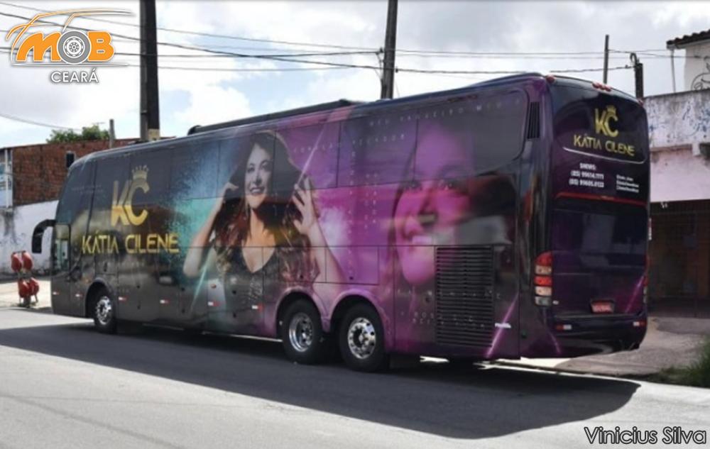 Ônibus de bandas e de cantores estão à venda em razão dos efeitos da pandemia