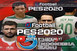 New FTS 2020 Mod PES 2020 Indonesian League And Europe by R15 Gamers
