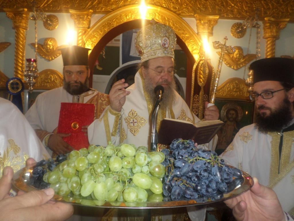 Ἡ Θεία Μεταμόρφωση τοῦ Κυρίου μας στό Πλατανοχώρι καί στή Σαρακήνα τῆς Μητροπόλεώς μας