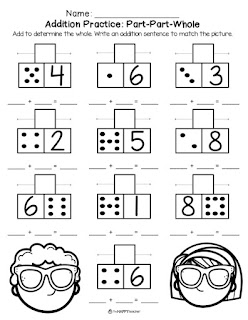 Summer math worksheets for first grade