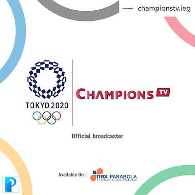 Nex Parabola Siarkan Olimpiade Tokyo 2020/2021
