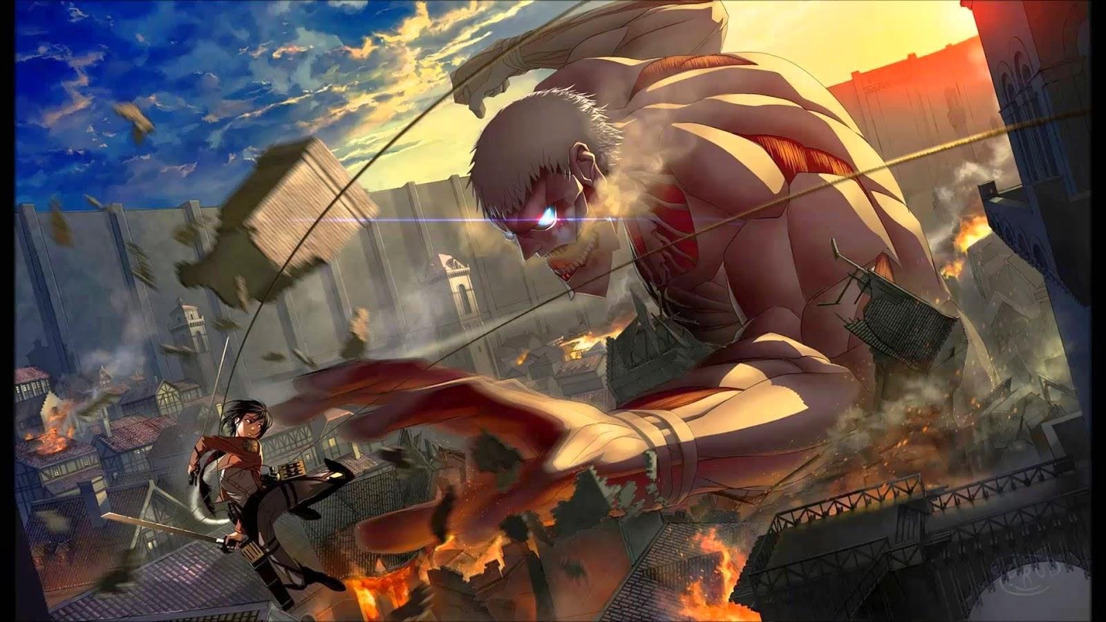 Gambar Attack on Titan