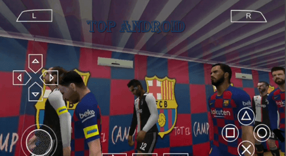 PES 2020 PPSSPP ISO Camera PS4 Android Offline