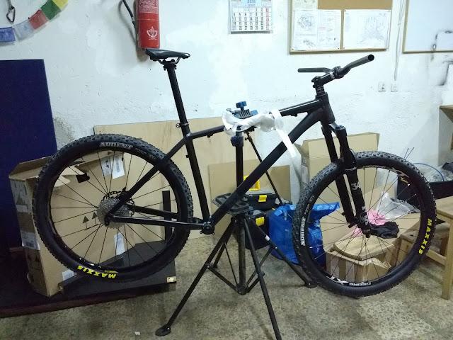 Construyendo una bici a la carta