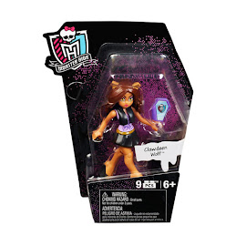 MH Ghouls Skullection 1 Clawdeen Wolf Mega Blocks Figure