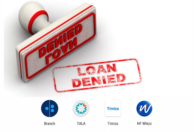 Why Loan Apps will deny you loans