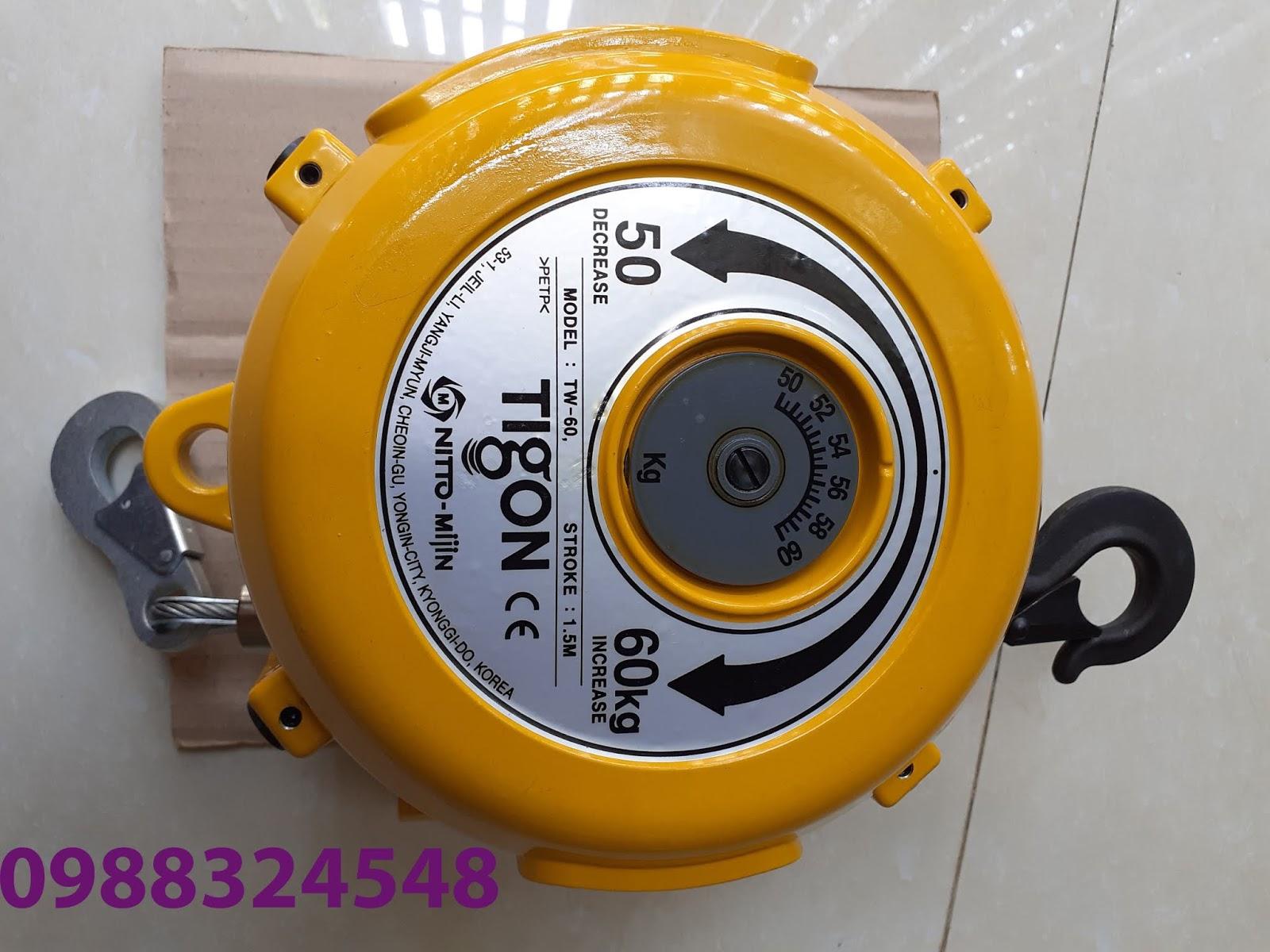 Pa lăng cân bằng Tigon TW-60, tải trọng: 50-60kg