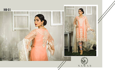 4 Mossii By Nawab Winter Dresses 2018