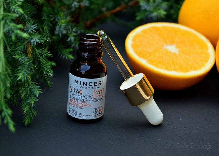 Mincer Pharma VITA-C-INFUSION Przeciwstarzeniowe olejkowe serum z witaminą C Tetra ( Receptura № 606 )