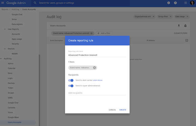 More notifications added to the alert center in Google Workspace 1