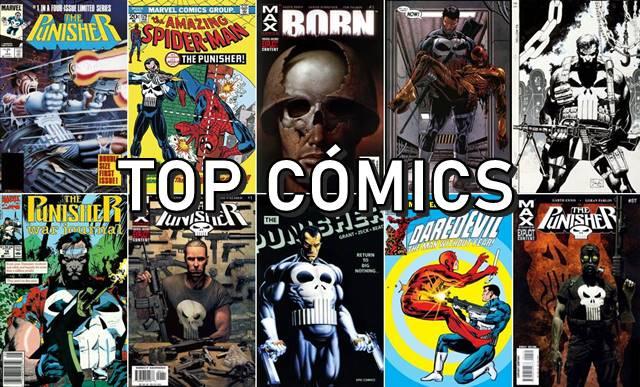 Mejores cómics e historias de Punisher