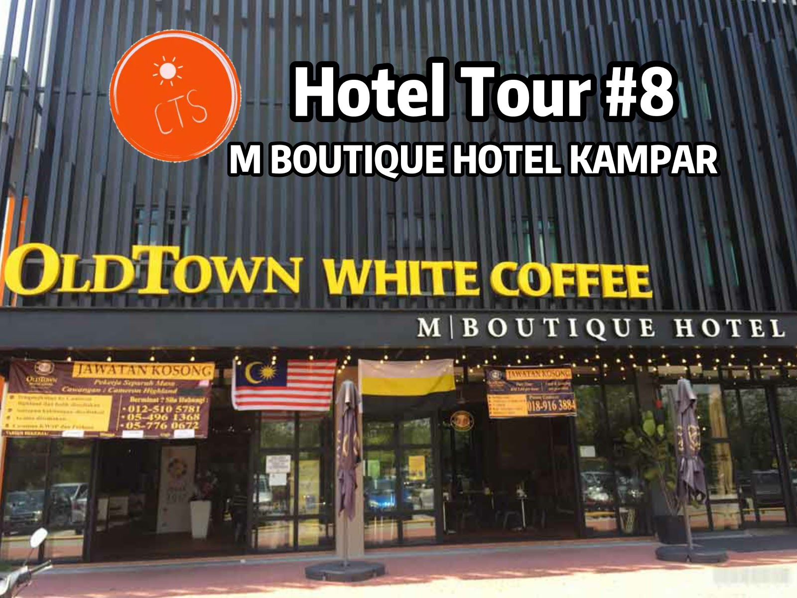 Hotel Tour #8 : M Boutique Hotel Di Kampar | Attention to Details A++!