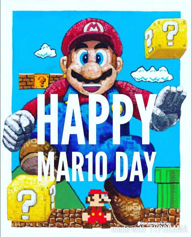 Mario Day Wishes Images download
