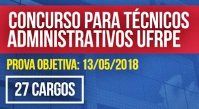 Concurso UFRPE 2018