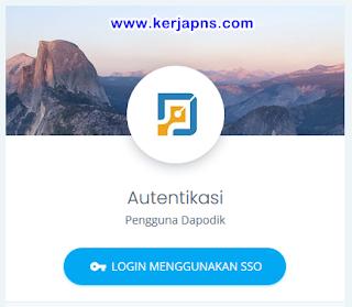 login SSO PTK di https://ptk.datadik.kemdikbud.go.id/