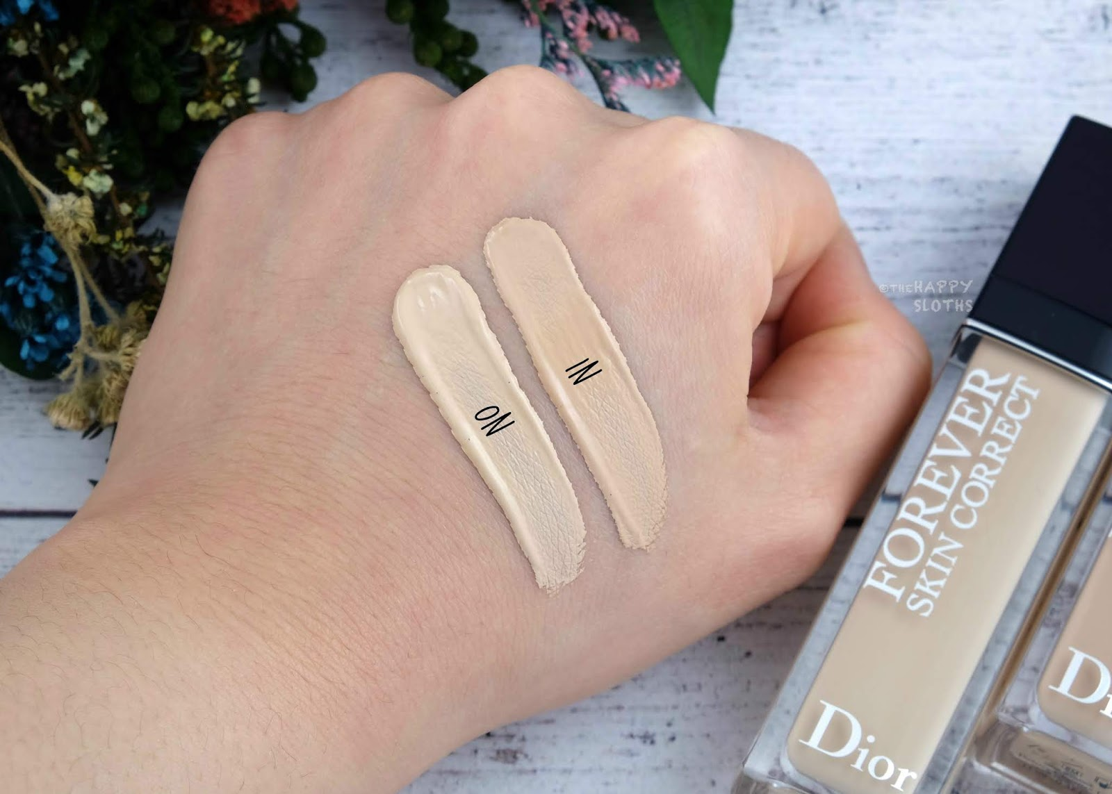 """Dior Forever Skin Correct Concealer in """"0N"""" & """"1N"""": Review and Swatches"""
