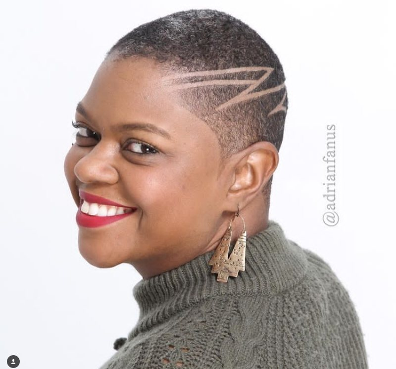 Low Cut Hairstyles for Black Females