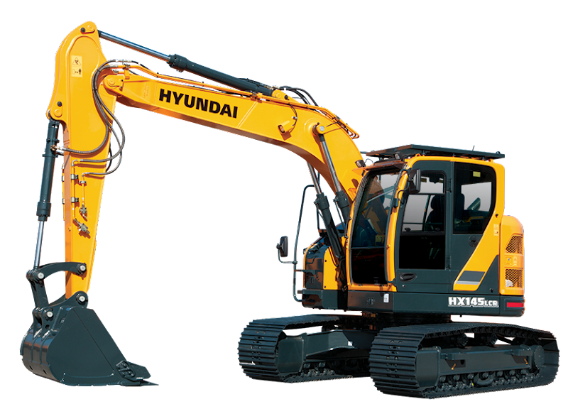 Hyundai Excavators HX145LCR