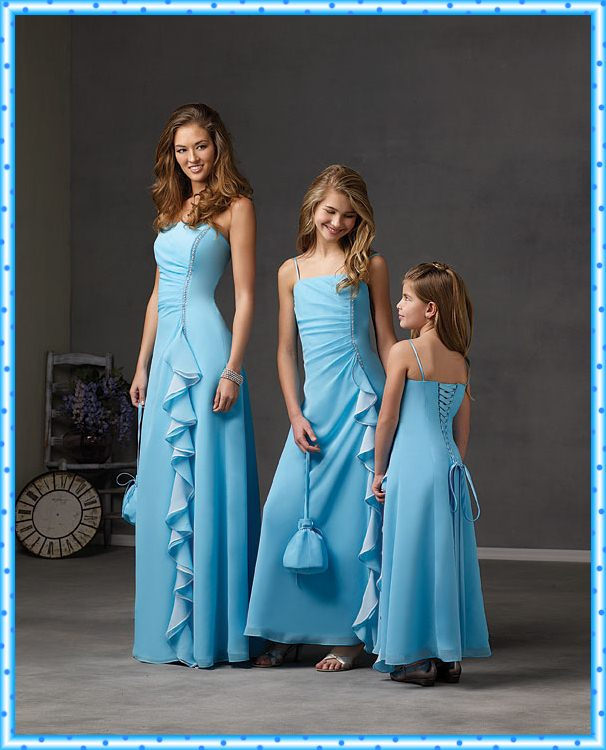 Bridesmaid Dresses Design To Family and Kids   Wedding ...