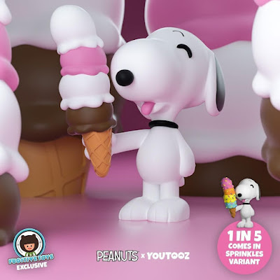 San Diego Comic-Con 2021 Exclusive Peanuts Ice Cream Snoopy Vinyl Figure by Youtooz x Fugitive Toys