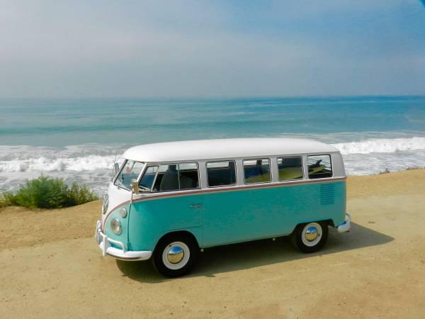 1966 Vw Bus Deluxe 13 Window Vw Bus Wagon