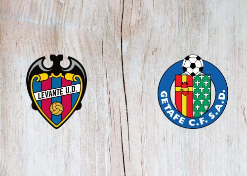 Levante vs Getafe -Highlights 19 July 2020