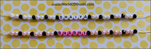 World Of Khushi | DIY Rakhi Image5