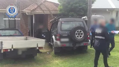 Police searched two properties over the weekend in relation to an alleged terror plot. CREDIT:NSW POLICE
