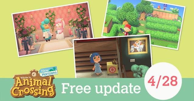 Animal Crossing: New Horizons (Switch) receberá nova atualização em breve