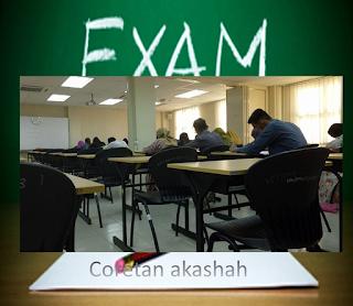 Coretan Bila Exam Menjelma