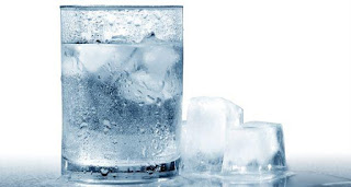 Fridge water is articially cooled to a lower temperature than normal