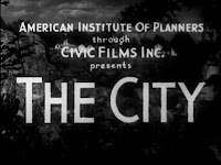 Documental The City - 1939