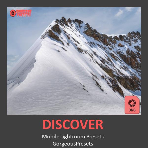 Discover Mobile DNG Presets For Lightroom - GorgeousPresets