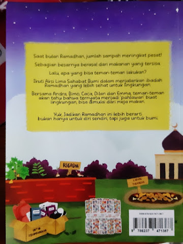 Buku Aksi Lima Sahabat Ramadhan untuk Bumi