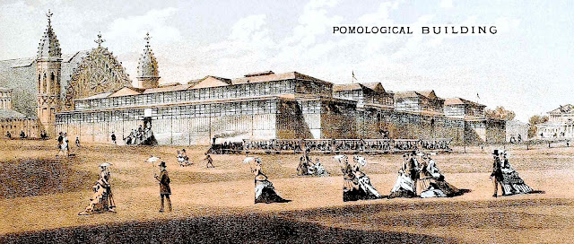 Centennial Exhibition of 1876 pomological hall