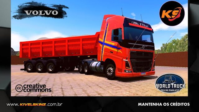 VOLVO FH16 750 - LARANJA PERFORMANCE EDITION