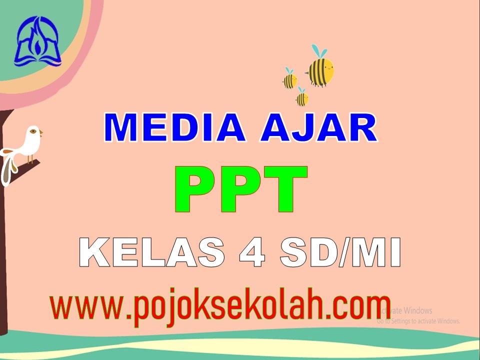 Media Pembelajaran Power Point (PPT) Kelas 4 SD/MI