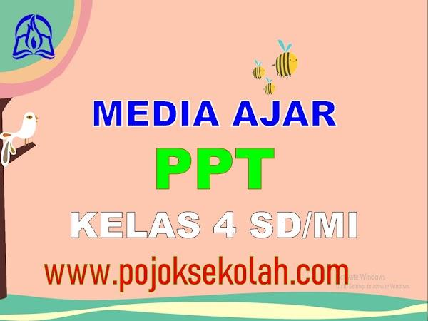 Media Pembelajaran Power Point (PPT) Kelas 4 SD/MI Kurikulum 2013