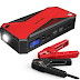 Best Car Jump Starter   DBPOWER 600A 18000mAh Portable Car Jump Starter (up to 6.5L Gas, 5.2L Diesel Engine) Battery Booster and Phone Charger