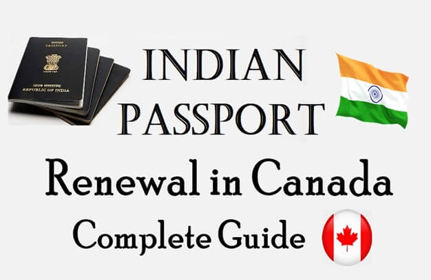 Indian passport renewal in canada application form; bls indian passport renewal in Canada