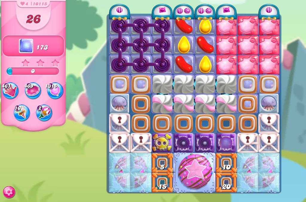 Candy Crush Saga level 10115