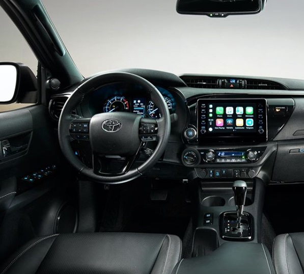 Dashboard Toyota All New Hilux