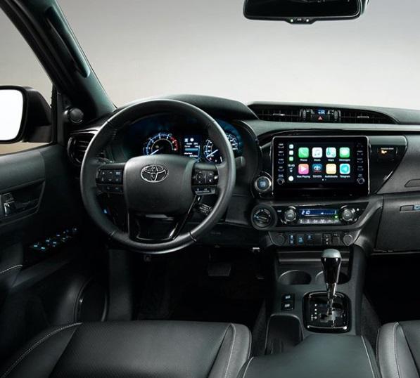 Dashboard Toyota All New Hilux