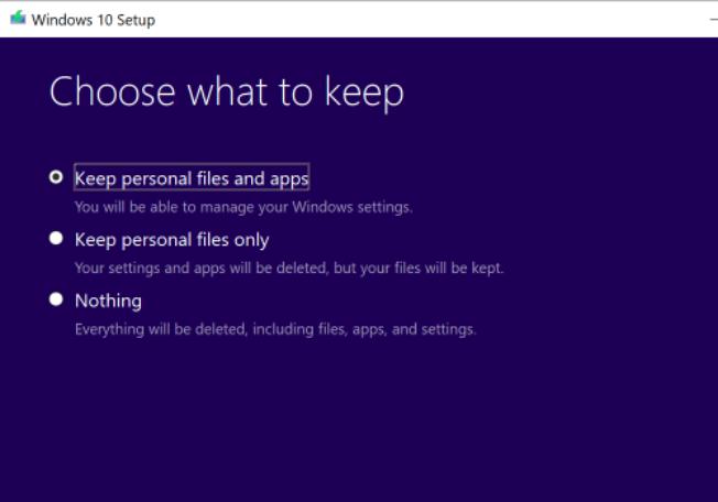 Instal ulang Windows 10 Tanpa Menghapus Perangkat Lunak, File atau Pengaturan Anda