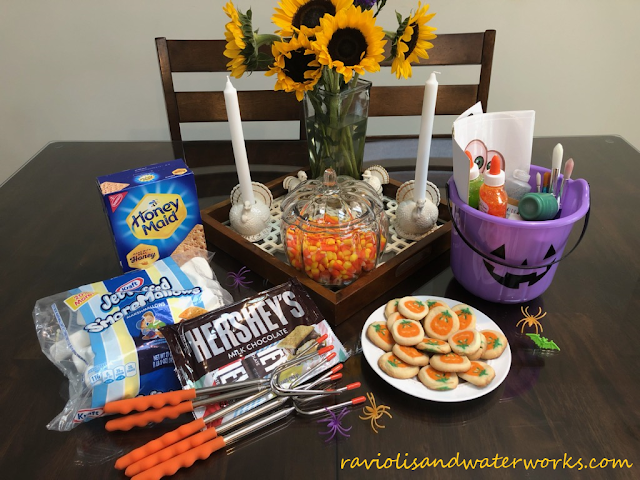 autumn themed festivities; fall themed party; kid's activities for the fall