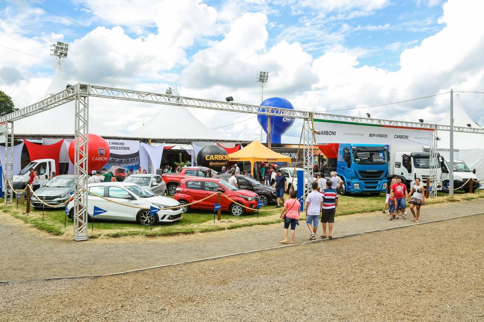 Carboni comercializa mais de 50 produtos na Expo Videira 2018 IMG 5489