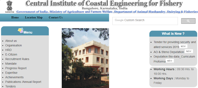Central Institute of Coastal Engineering For Fishery