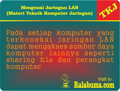 Pengertian Jaringan LAN Local Area Network