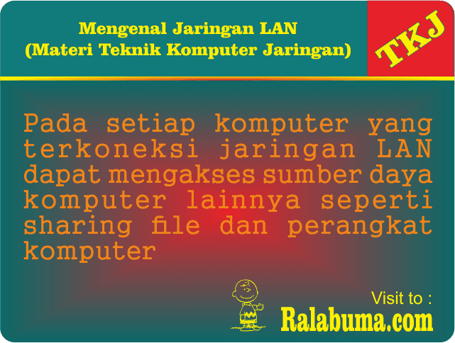 Pengertian Jaringan LAN Local Area Network